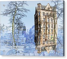 Susi One Acrylic Print by Joerg Bernhard Klemmer