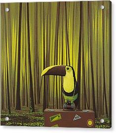 Suspenders Acrylic Print by Jasper Oostland