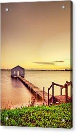 Swan River Acrylic Print by Jimmy Chong