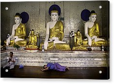 Swedagon Sweepers Acrylic Print by David Longstreath