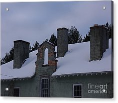 Sweeps Gate Acrylic Print by The Stone Age