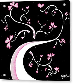 Sweet Charity By Madart Acrylic Print by Megan Duncanson