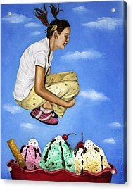 Sweet Dreams Acrylic Print by Leah Saulnier The Painting Maniac