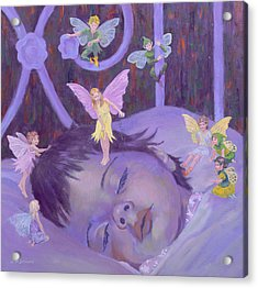 Sweet Dreams Acrylic Print by William Ireland