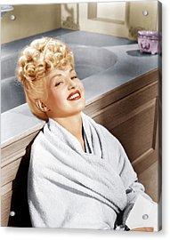 Sweet Rosie Ogrady, Betty Grable, 1943 Acrylic Print by Everett