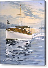 Swell Acrylic Print by Richard De Wolfe