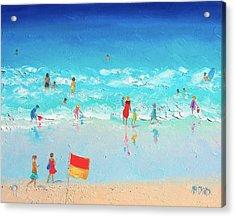 Swim Day Acrylic Print by Jan Matson