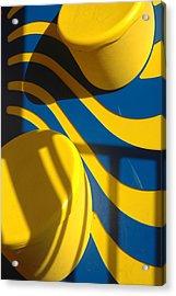 Swirls Of Fun Acrylic Print by Mickie Boothroyd