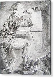 Sybreed - Ben Nominet Acrylic Print by Melissa Gallardo