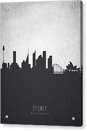 Sydney Australia Cityscape 19 Acrylic Print by Aged Pixel