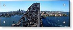 Sydney Harbour Bridge Acrylic Print by Melanie Viola