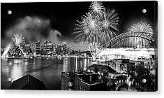 Sydney Spectacular Acrylic Print by Az Jackson