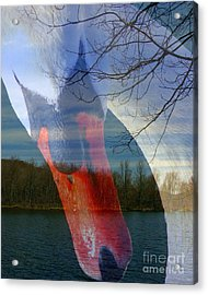 Symbiosis Acrylic Print by Priscilla Richardson
