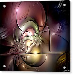 Synergetic Hypothesis Acrylic Print by Casey Kotas