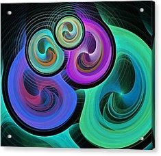 Synergy Acrylic Print by Anastasiya Malakhova