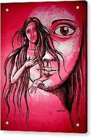 Synonym Of Love And Beauty Acrylic Print by Paulo Zerbato