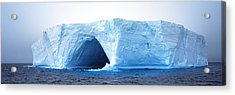 Tabular Iceberg Antarctica Acrylic Print by Panoramic Images
