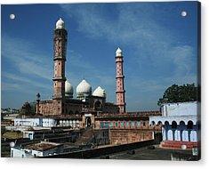 Tajul Masajid Acrylic Print by Mohammed Nasir
