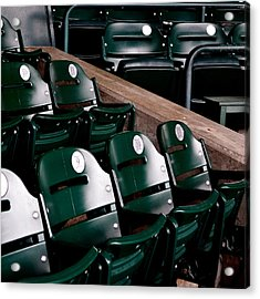 Take Me Out To The Ball Game Acrylic Print by Michelle Calkins