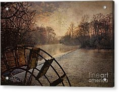 Tales From The Riverbank  II Acrylic Print by Robert Brown