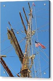 Tall Ship Series 8 Acrylic Print by Scott Hovind