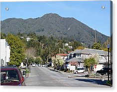 Tamalpais From Mill Valley Acrylic Print by Ben Upham