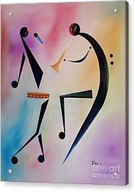 Tambourine Jam Acrylic Print by Ikahl Beckford