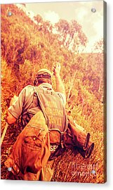 Tasmania Search And Rescue Ses Volunteer  Acrylic Print by Jorgo Photography - Wall Art Gallery