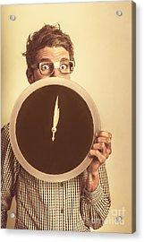 Tax Return Overdue Acrylic Print by Jorgo Photography - Wall Art Gallery
