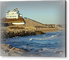 Taylor Swift Rhode Island Home Acrylic Print by Diane Valliere