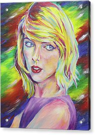 Taylor Swift Acrylic Print by Taylor Wise