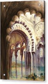 Tcm Spanish 158 4 Acrylic Print by Mawra Tahreem