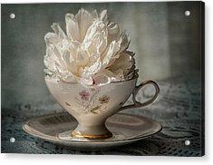 Tea Time Acrylic Print by Maggie Terlecki