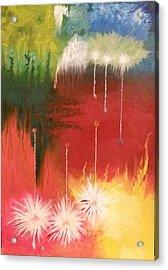 Tears In Heaven Acrylic Print by Fabio Tedeschi