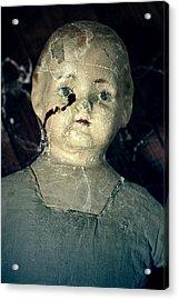 Tears Of Blood Acrylic Print by Joana Kruse