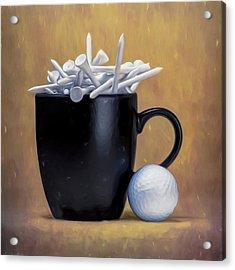 Tee Cup Acrylic Print by Tom Mc Nemar