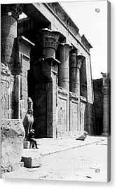 Temple Of Horus At Edfu, 20th Century Acrylic Print by Science Source