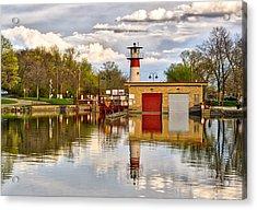 Tenney Lock - Madison - Wisconsin Acrylic Print by Steven Ralser