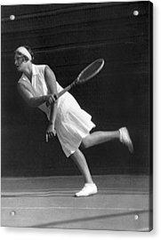 Tennis Champion Kitty Godfree Acrylic Print by Underwood Archives