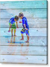 A Summer To Remember Ivb Acrylic Print by Susan Molnar