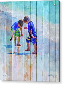 A Summer To Remember Ivc Acrylic Print by Susan Molnar