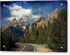 Teton Grande 11 Acrylic Print by Marty Koch