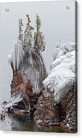 Tettegouche Acrylic Print by Mary Amerman