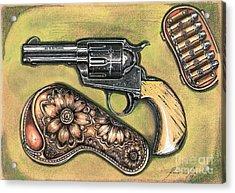 Texas Border Special Acrylic Print by Ricardo Reis