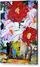 That Streak Of Pink Acrylic Print by Lynda Cookson