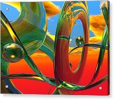 THC Acrylic Print by Scott Piers