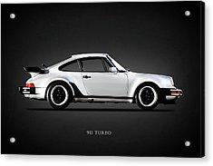 The 911 Turbo 1984 Acrylic Print by Mark Rogan
