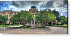 The Academic Building Acrylic Print by David Morefield