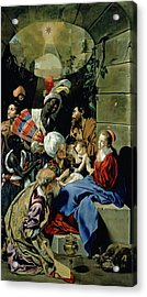 The Adoration Of The Kings Acrylic Print by Fray Juan Batista Maino