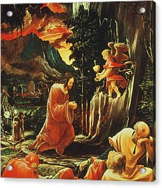 The Agony In The Garden Acrylic Print by Albrecht Altdorfer